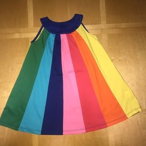 Hanna Andersson Rainbow Swing Dress